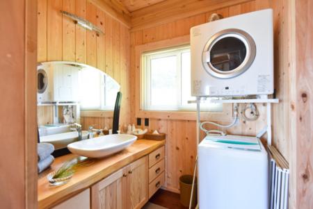 脱衣所&洗濯乾燥機(ガス)