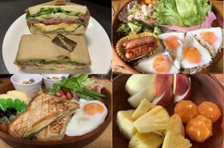 朝食サービス中♪