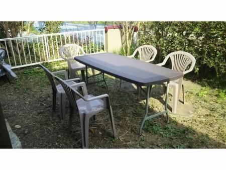 バーベキュー用テーブル(屋外)
