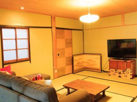TVがある部屋です