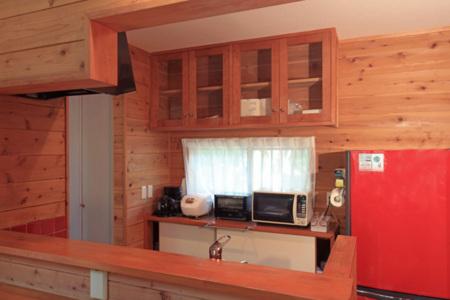 キッチン 一通りの調理器具は揃っています