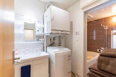 1階洗濯機・ガス乾燥機あり