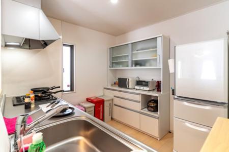 1階機能的で広々キッチン