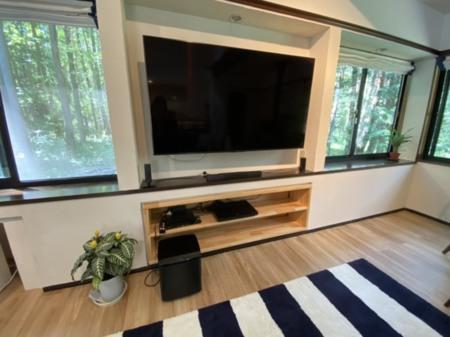 65型TV・BOSEホームシアター