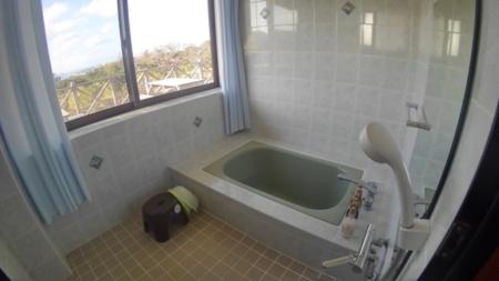 明るい浴室!