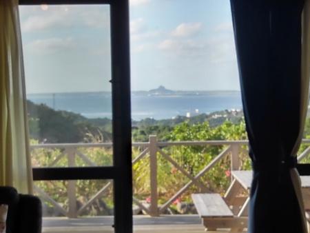 リビングから西海岸が眺望できます。