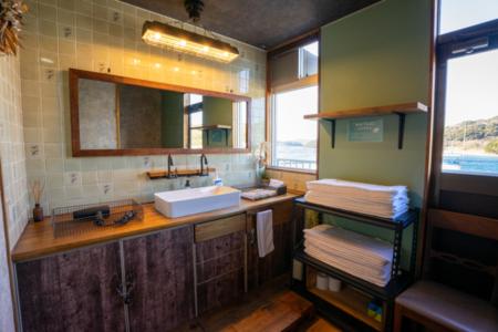 【洗面スペース】歯ブラシ、バスタオル有