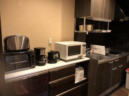 食器家電はデュエットリゾートの売りです
