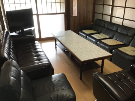 リビングルーム(談話室)