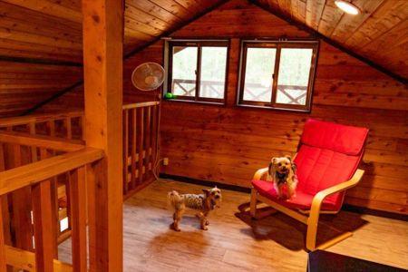 2階 布団敷用の寝室