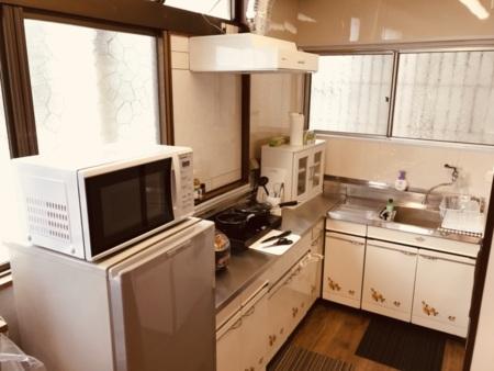 2階:広々キッチンです。