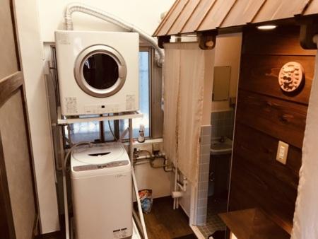 2階:嬉しい衣類乾燥機・洗濯機