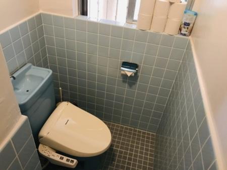 2階:嬉しいウォシュレット付きトイレ