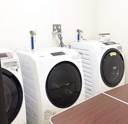 いつでも洗濯乾燥ランドリールーム