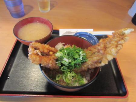 穴子丼(海鮮市場内飲食店)