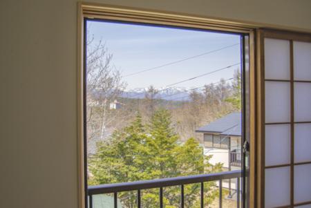 2階和室からの景色