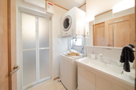 洗濯機&衣類乾燥機完備!!