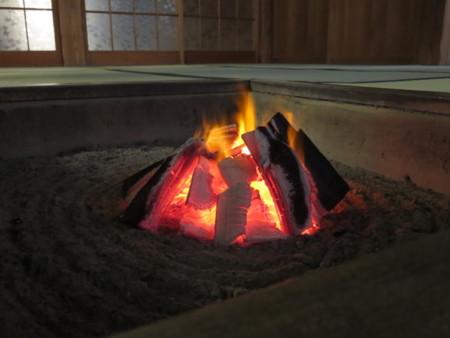 囲炉裏体験