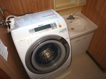 洗濯乾燥機 洗面台