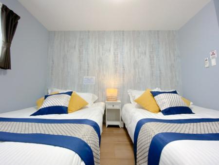ベッドルームは合計3室あります