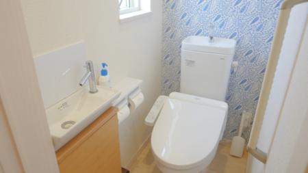 清潔感のあるトイレは自慢です