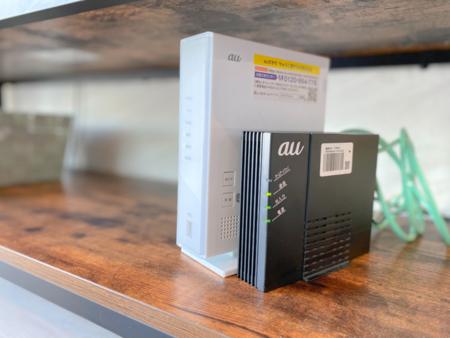 光回線の高速Wi-Fiも常設
