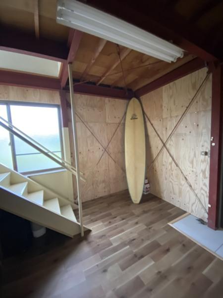 室内ボード置きスペース