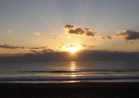 南千倉海岸の初日の出