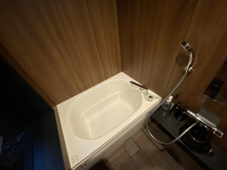 木目調のお風呂