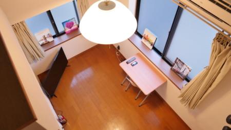 2階のお部屋はロフト付きです