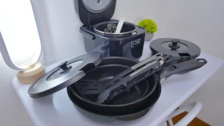 最新の調理器具がございます