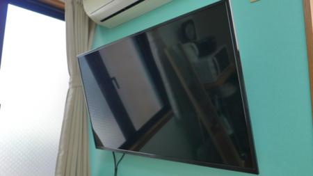 見やすい壁掛けテレビ