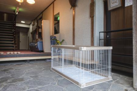 小型犬~中型犬までペット有料で宿泊可