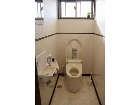 大理石のトイレ