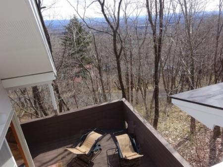 2階からの那須高原眺望