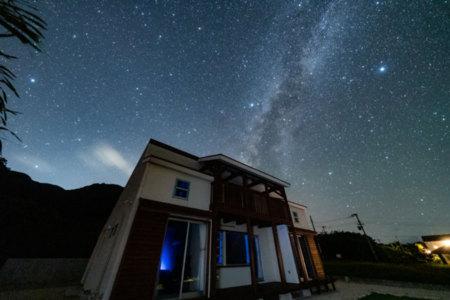 静かな環境で満天の星空が楽しめます!
