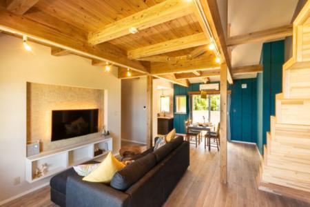 木造ならではの内装。癒しの空間をどうぞ!