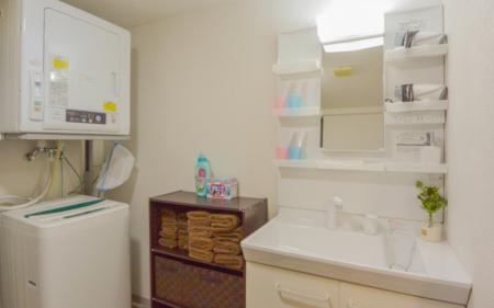 洗面所 洗面台/洗濯機/乾燥機