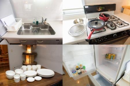 キッチン設備充実してます♪