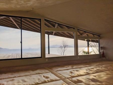 K棟・2階広間は低反発の畳スペース。