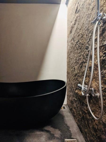 K棟・お風呂はゆったり。テレビ付き*