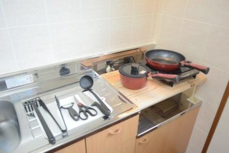 調理器具も準備しております