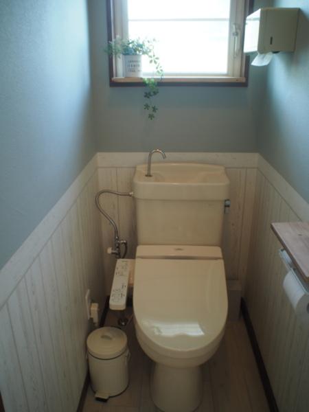 ウォシュレット完備 トイレは2か所