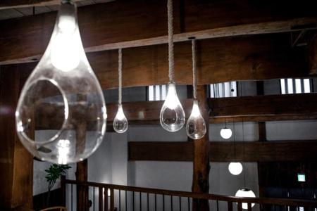 漁船の照明を模した照明