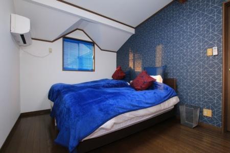 2階、ベッドルーム