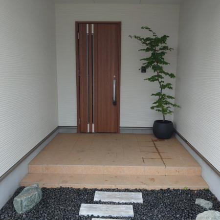 別邸青い森那須の癒しの入り口です。
