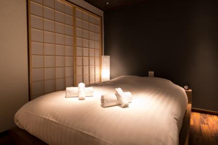 2階寝室D(クイーンベッド×1)
