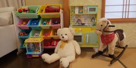 おもちゃを多数ご用意しております