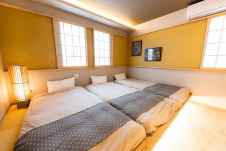 1階のベッドルーム。