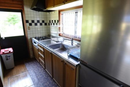 キッチン(備え付け調理器具があります)